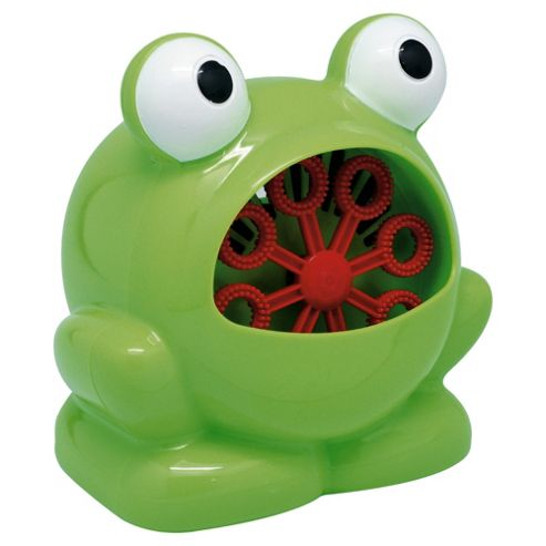 Tesco Mini Frog Bubble Machine