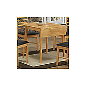 Elements Athens Oak Square Drop Leaf Table