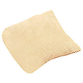 Dreams N Drapes Curtina Chenille Spot Cushion - Cream - No