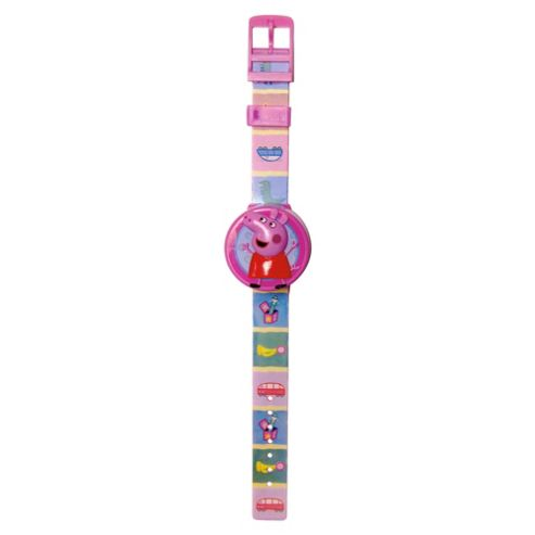 Zeon Peppa Pig Flip Top Watch