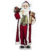 Animated Musical Santa Christmas Figure