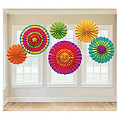 Fiesta Paper Fan Decorations