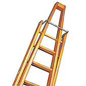 Trade 1.8m (5.91ft) Timber Single Window Cleaning Ladder