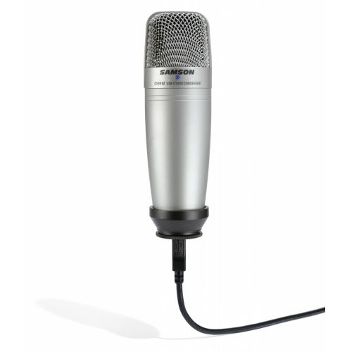 Samson Multi-Pattern USB Studio Condenser Microphone