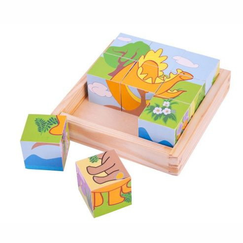 Bigjigs Toys Dinosaur Cube Puzzle