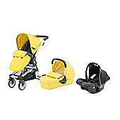 Baby Elegance Beep Twist Travel System - Citrus