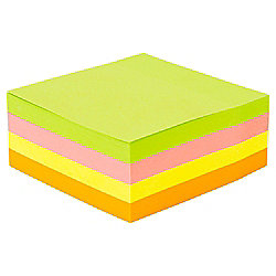 STICKY NOTES CUBE 76MM X 76MM 350 SHTS