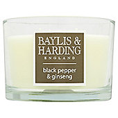 Baylis & Harding Multi-Wick Candle, Black Pepper & Ginseng