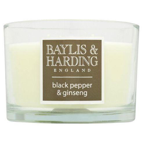 Baylis & Harding Multi-Wick Candle Black Pepper & Ginseng