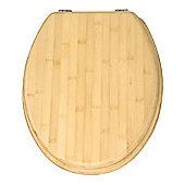 Wenko Bamboo Toilet Seat