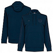 2013-14 Chelsea Adidas Core Hooded Top (Navy) - Navy
