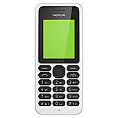 Tesco Mobile Nokia 130 White