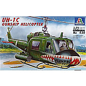 UH-1C Gunship - 1:72 Scale - 050 - Italeri