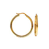 QP Jewellers Monarch Hoop Earrings in 14K Gold