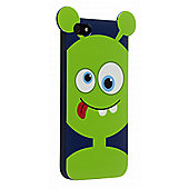 My Doodles iPhone 5/5S Character TPU Case Alien (Green)