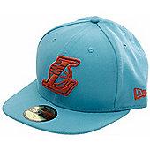 New Era Cap Co Seasonal Contrast LA Lakers New Era Cap - Vice Blue/Orange Pop - Blue
