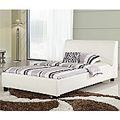 Sareer Furniture Modena Panel Double Bed Frame
