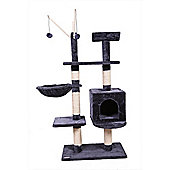 Confidence Pet Exective Cat Kitten Tree Scratch Post Activity Centre Grey