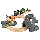 Brio Gold Mountain Set, wooden toy