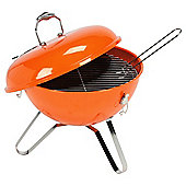 Tesco Retro Portable BBQ, Orange