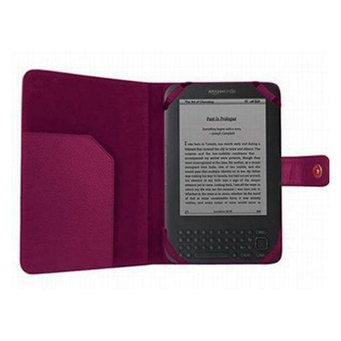 iTALKonline 14148 Executive Wallet Case Purple - For  Amazon Kindle 3