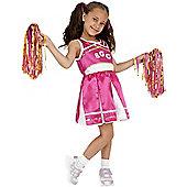 Cheerleader - Child Costume 4-6 years