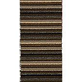 Dandy Ios Chocolate Contemporary Rug - Runner 67cm x 180cm