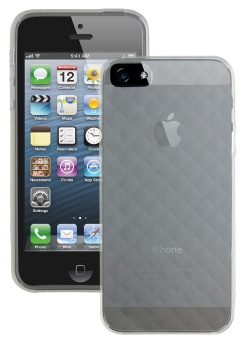 Case It Quilted Glacier Case for Apple iPhone 5 - Clear