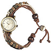 Kahuna Ladies Beaded Friendship Bands Watch - KLF-0012L