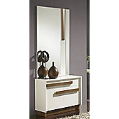 Gallego Sanchez Concept Shoe Storage - White and Walnut