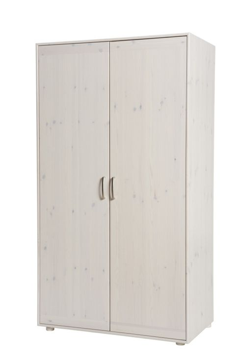 Flexa Wide Wardrobe - White