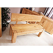 Baumhaus CMR03A Atlas Solid Oak Bench