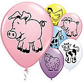 11' Farm Animal Assortment (6pk)