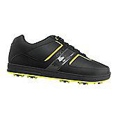Crocs Mens Tyne Golf Shoes (Blk Yellow) - Black