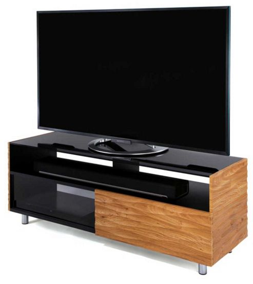 buy contour 1300 oak tv stand for up to 55 inch tvs from our tv stands units range tesco. Black Bedroom Furniture Sets. Home Design Ideas