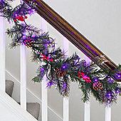80 Purple Berry Indoor LED Fairy Lights