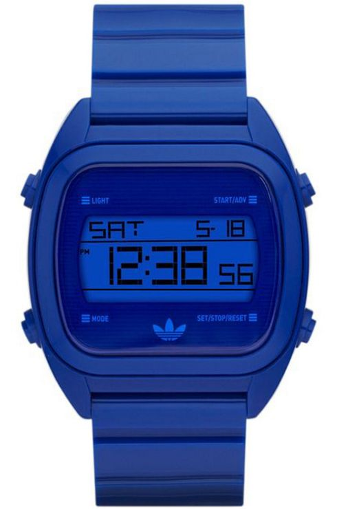 Adidas Gents Blue Digital Resin Strap Watch ADH2728