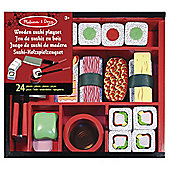 Melissa And Doug 12608 Melissa & Doug Sushi Slicing Playset
