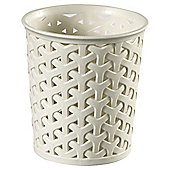 Curver My Style Small Rattan Pot - Cream