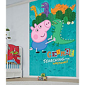 George Pig Wallpaper Mural Poster, 8ft x 5ft