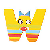 Tatiri Crazy Animals Letter W (Yellow Cat)