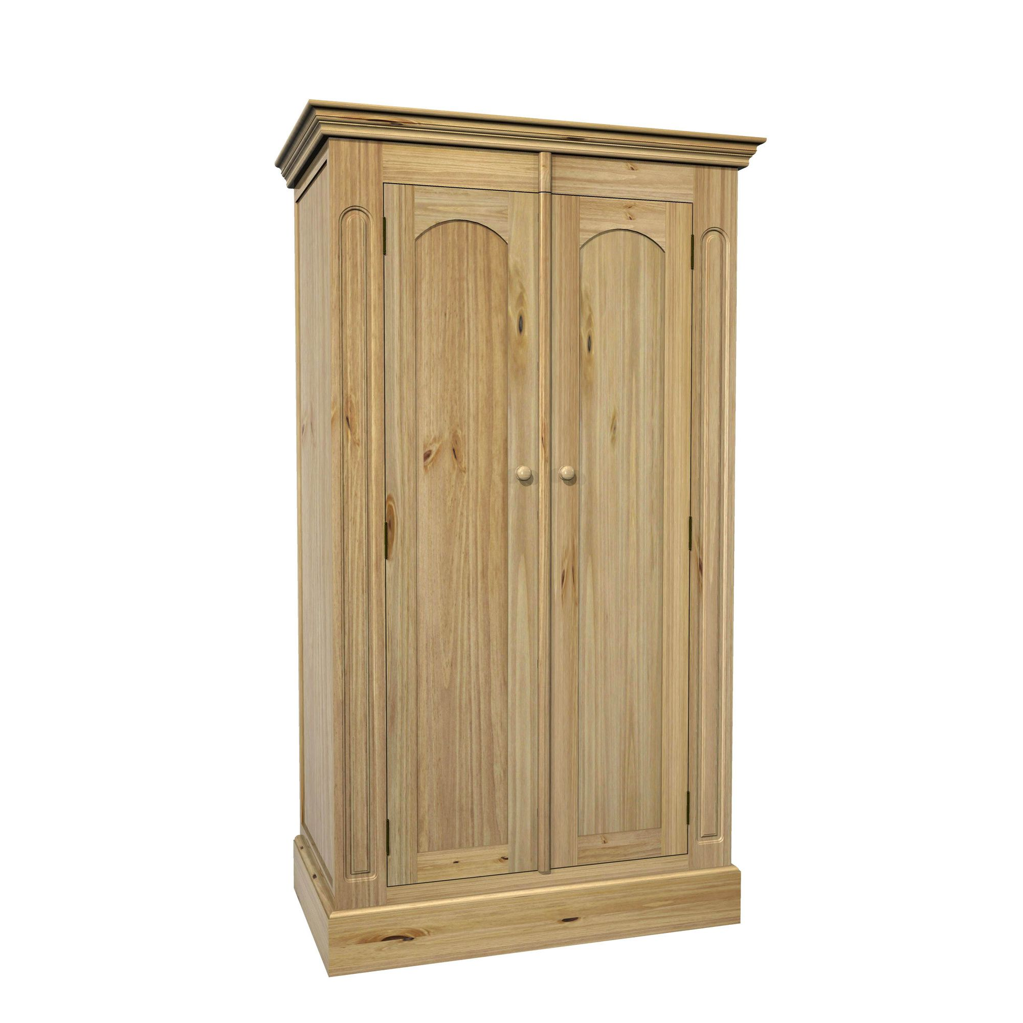 Kelburn Furniture Woodland Pine 2 Door Wardrobe at Tesco Direct