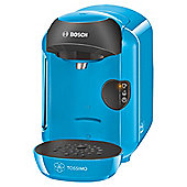 BOSCH Tassimo Vivy TAS1255GB Hot Drinks and Coffee Machine, Blue