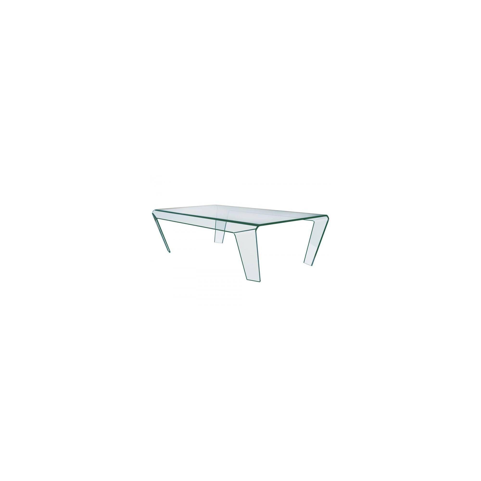 Greenapple xeon glass coffee table at Tesco Direct