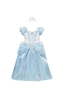 Disney Princess Cinderella Premium Dress-Up Costume years 03 - 04 Blue