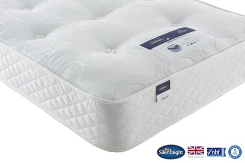 Silentnight Taplow Double Mattress, Miracoil Tufted Ortho