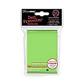 Ultra Pro Deck Protector Sleeves 50 Count Card Game (Lime Green)