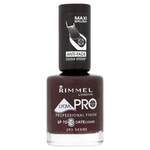 Rimmel Lycra Pro Nail Polish Desire