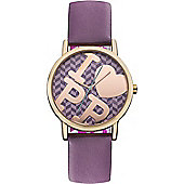 Pauls Boutique Ladies Strap Watch PA020PPRS