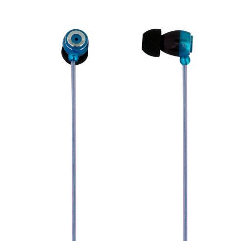 MiTEC Metal Earphones Blue
